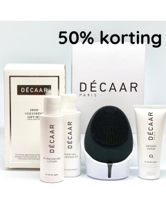 Décaar Facial Brush & Cleansing Gift Set