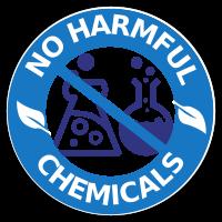 Geen schadelijke chemicaliën